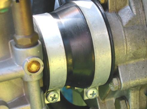 Carburetor inlet socket boot rubbers & Stainless Exhaust Springs