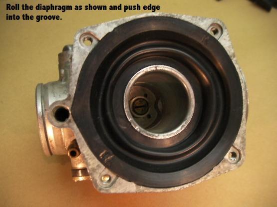 Kawasaki Ltd Carb Diaphram