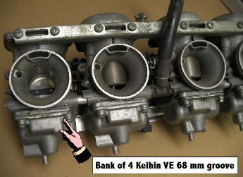 Keihin CV carburetor diaphram installation page for JBM