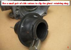 Principle of JBM replacement CV carburetor diaphragm membrane